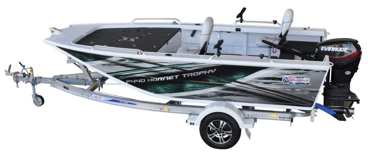 New Quintrex 440 Hornet Trophy