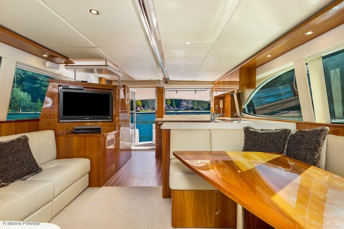 Riviera 56 Enclosed Flybridge - Rare opportunity to own such a stunning example