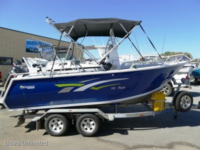 Horizon Aluminium Boats 515 Pacific PRESENT LIKE BRAND NEW!!