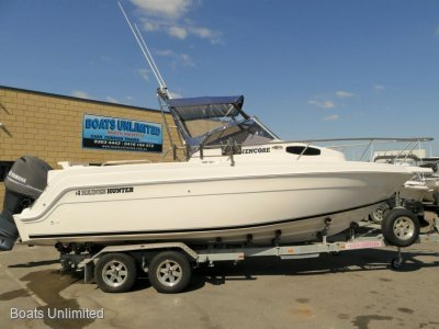 Haines Hunter 680SF Encore OFFSHORE FISHING RIG FOR SOFT RIDE