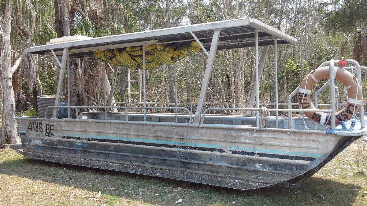 Custom Craft USL survey Aluminium Custom Punt/Barge/Craft