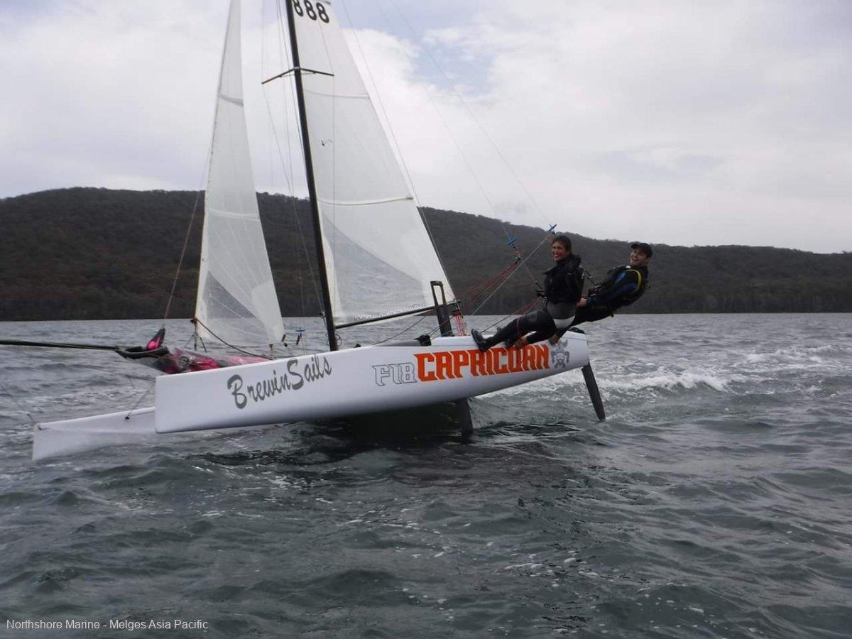 Capricorn F18:Multihull F18  catamaran