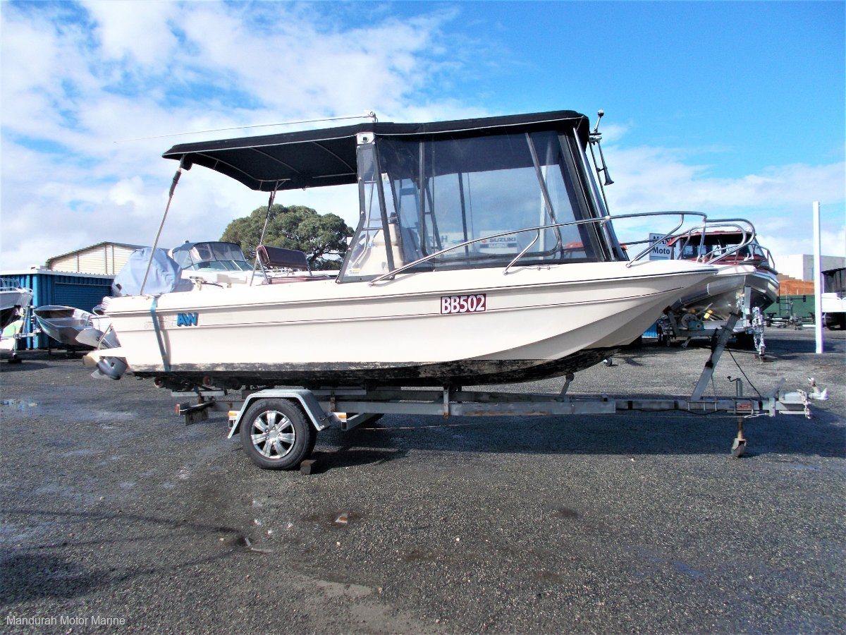 Aussie Whaler 550 Profish - Outstanding Value!