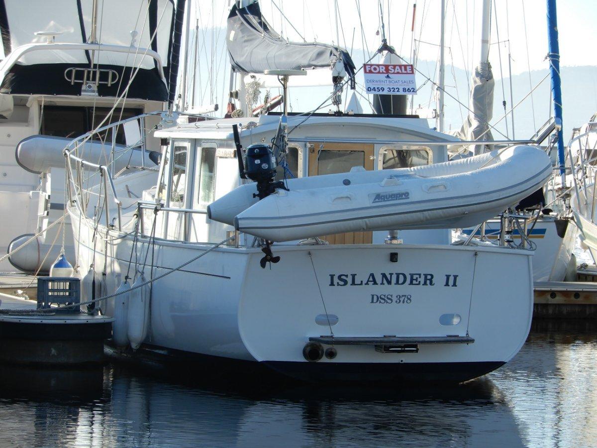 Max Creese Pilothouse Motorsailer Yacht TASMANIAN DESIGNED AND BUILT, SUPERB! UNIQUE!