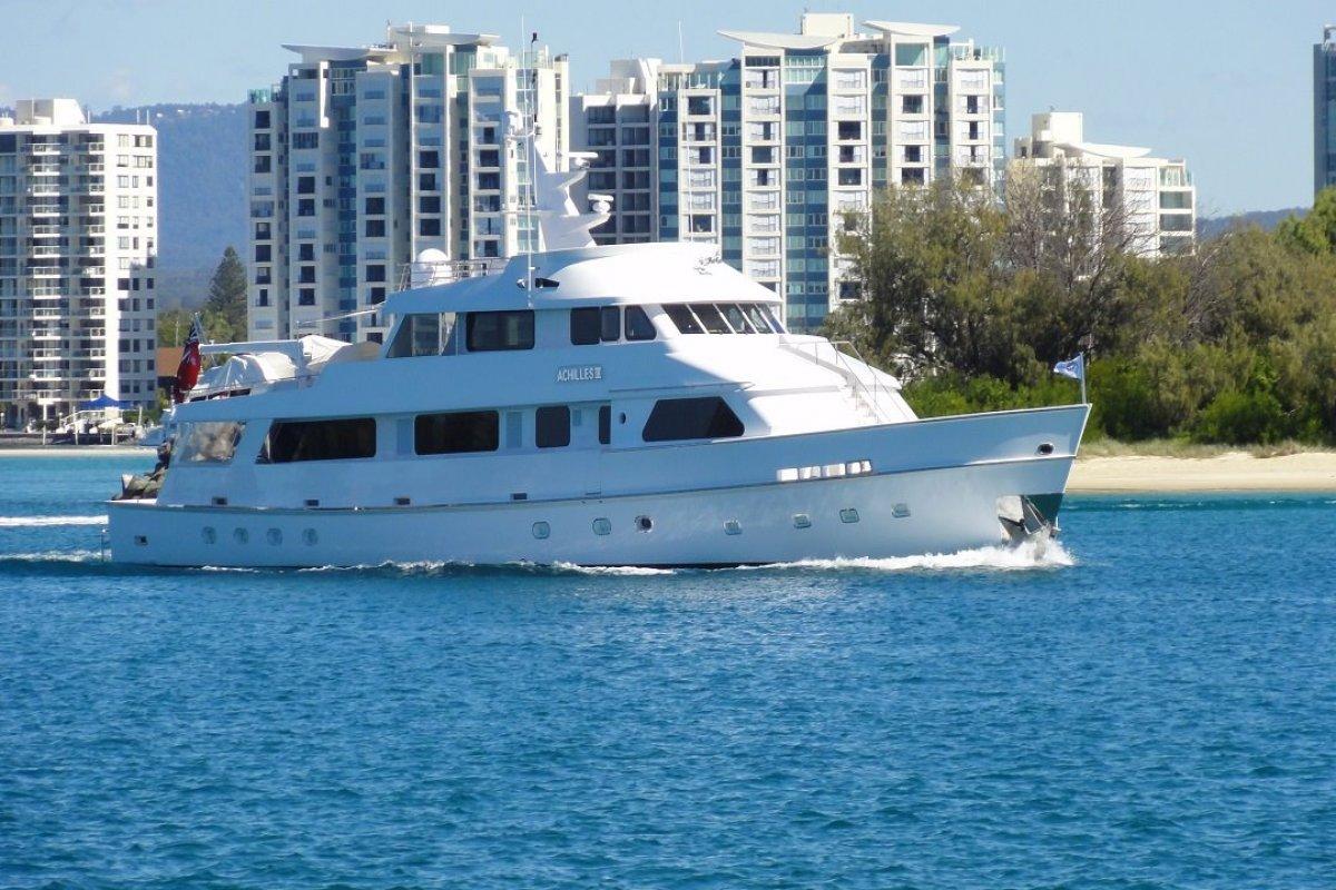 Custom 35m Motor Yacht