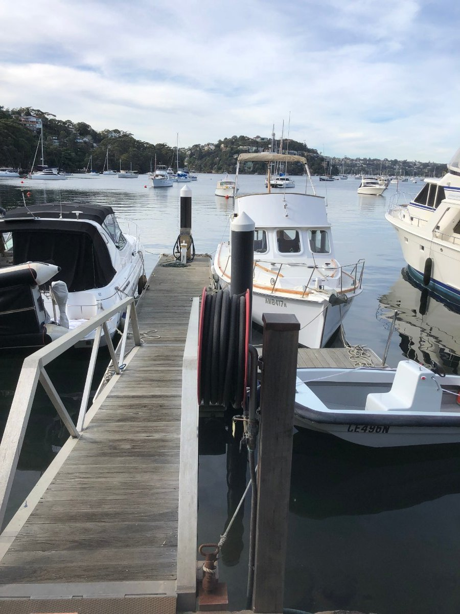 Rare Berth Available Middle Harbour Sydney