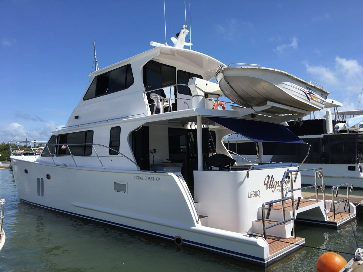 Coral Coast Power Catamaran SOLD ANOTHER WANTED
