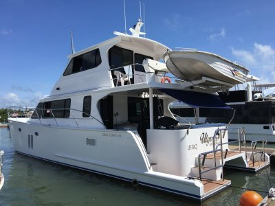Coral Coast Power Catamaran ITS ALMOST NEW