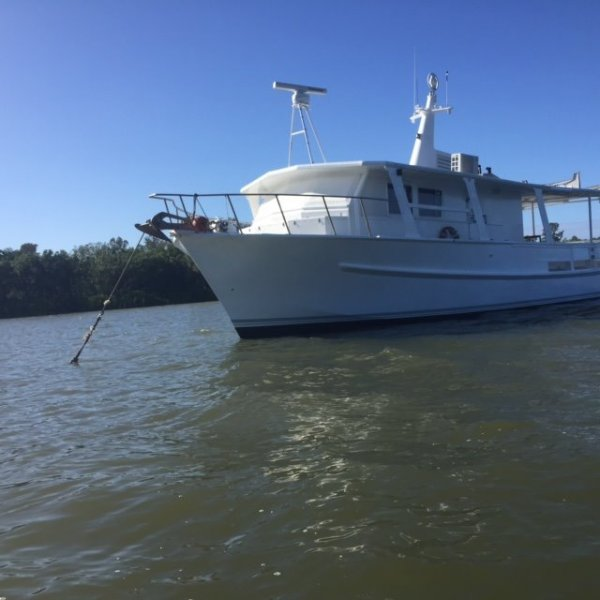Custom Converted Timber Trawler Liveaboard