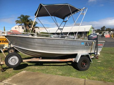 Stacer 429 Seahorse With 2019 Yamaha 30hp electric start