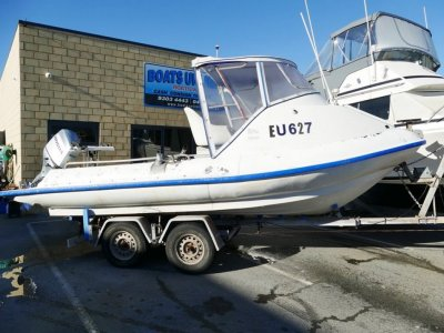Mac Boats 570 Sport Survey HAS BEEN IN WORK SURVEY BUT NO LIC AT PRESENT- Click for more info...