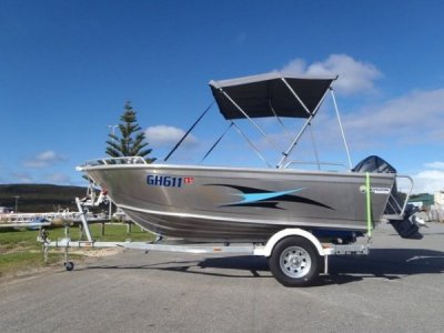 Horizon Aluminium Boats 438 Stryker OPEN BOAT