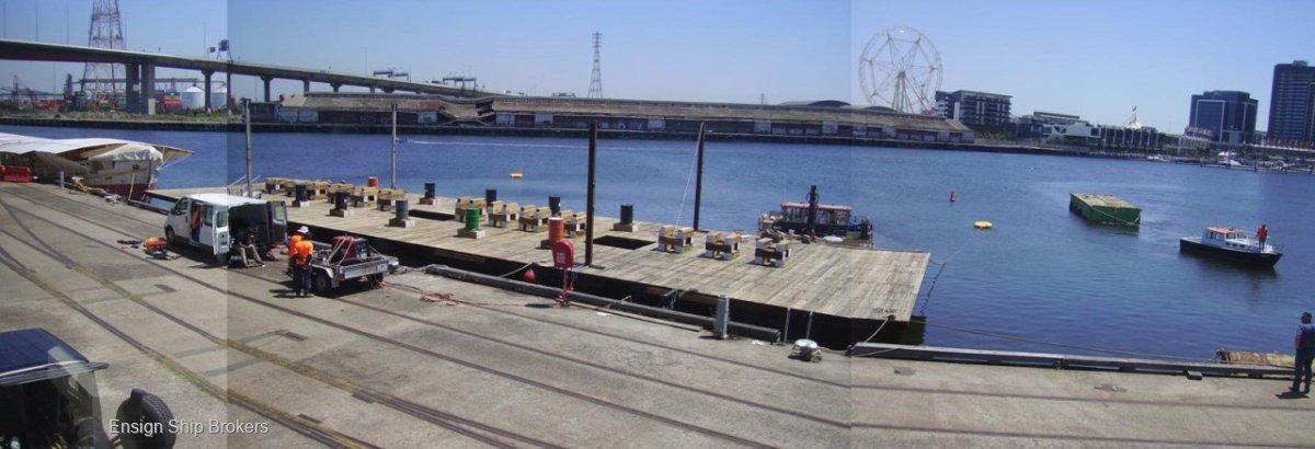 Custom Pontoon Barge