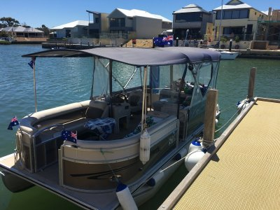 Harris Flotebote Pontoon