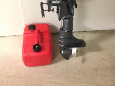 Seanovo 5HP Outboard - Brand New
