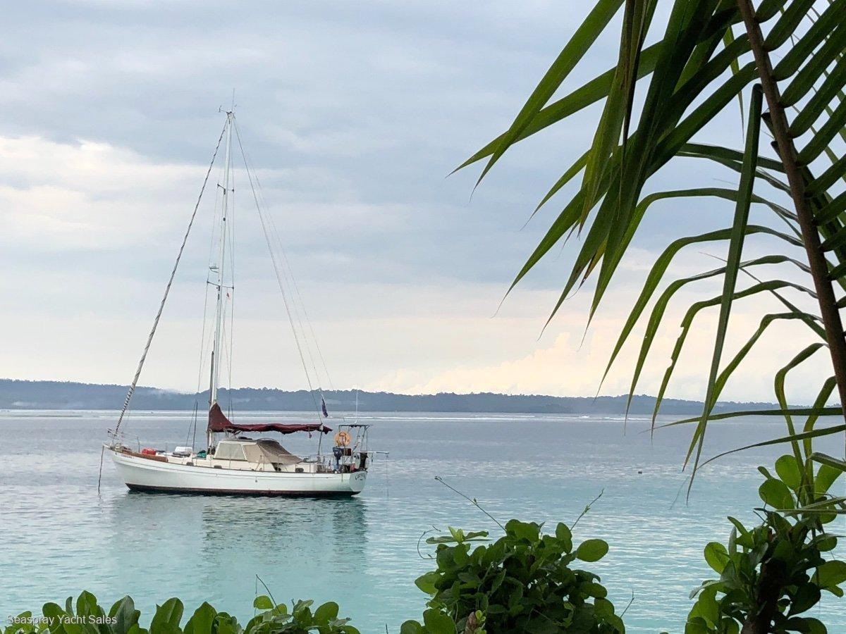 Salar 40 Pilot House Sloop:Salar 1985 yacht for sale in Malaysia