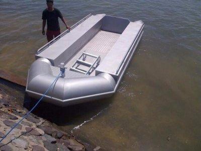 NEW BUILD - 5m Alloy Tube Workboat