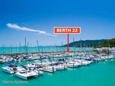 B22 12M MARINA BERTH CORAL SEA MARINA RESORT