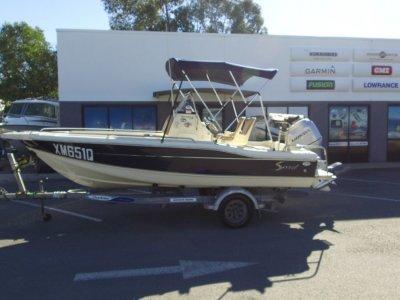 Scout 175 Sportfish + Honda BF100
