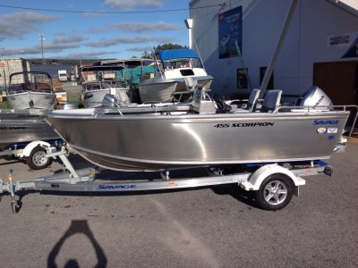 Savage 455 Scorpion Side Console Package