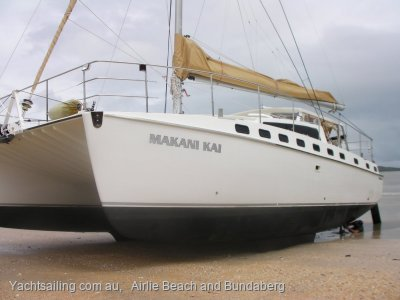 Catamaran very suitable to live aboard forever