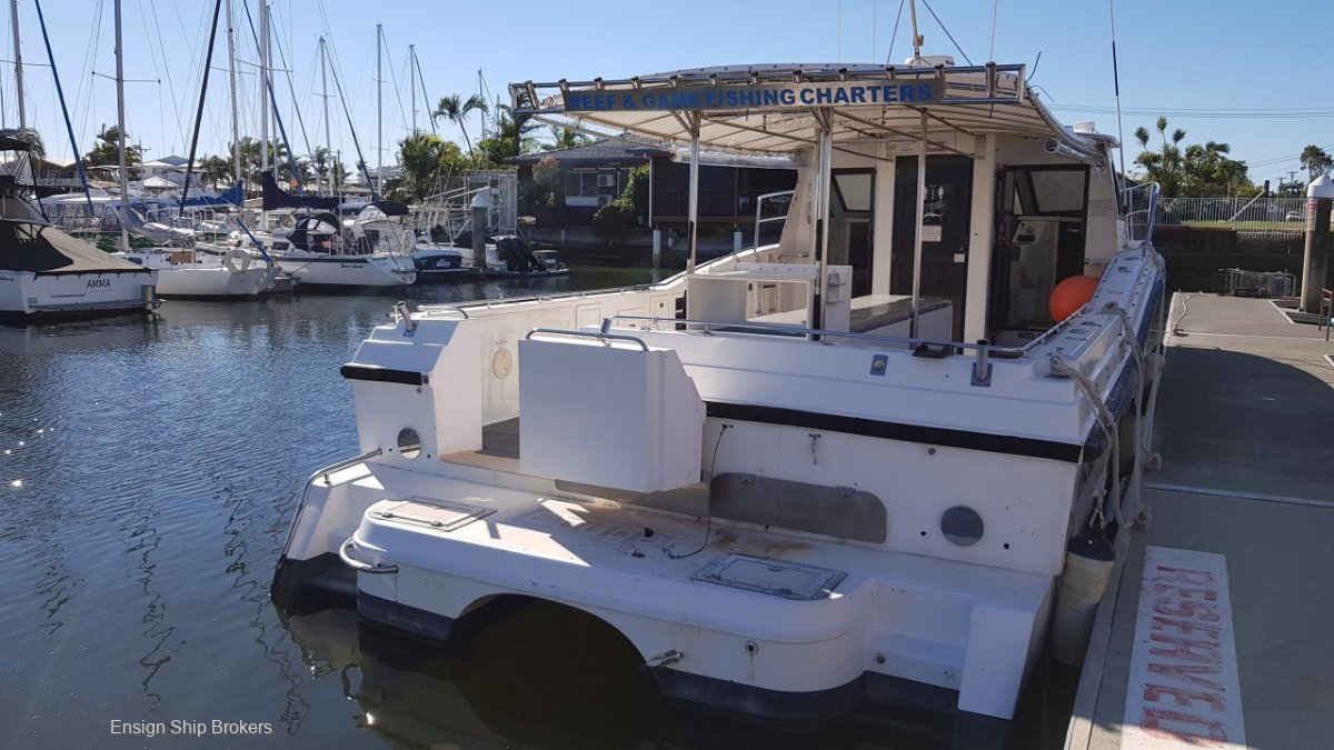 Cougar Cat Charter Fishing Vessel