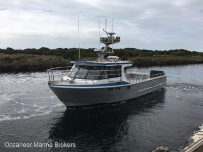 Colin Smith Schwetz Design 11.99m Charter and Fishing Vessel
