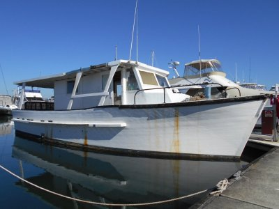 Sharpie Trawler Timber Cruiser Much work done Price Just Lowered by $7000!!!!!!!!