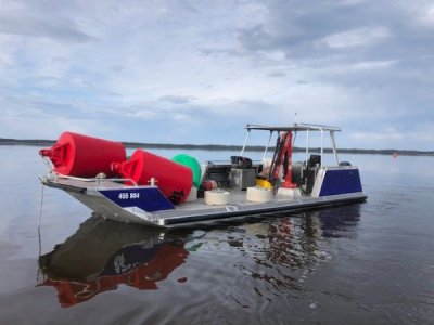 Alumarine 10 x 3.2 Work Boat