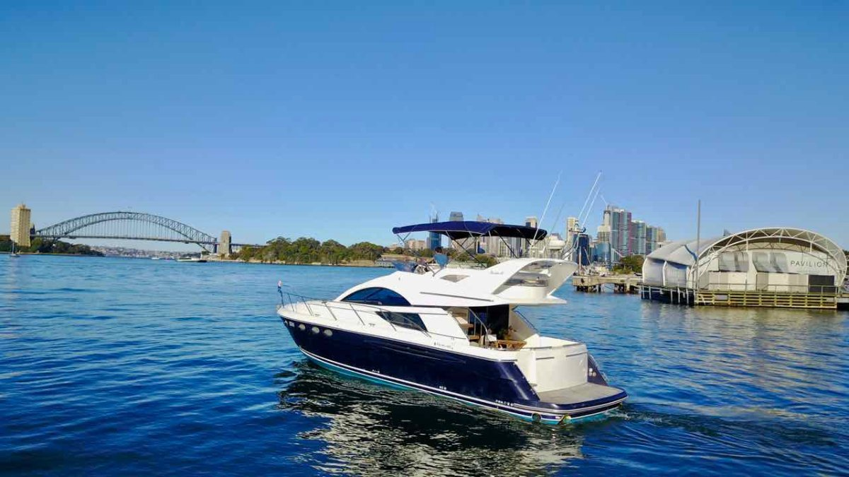Fairline Phantom 48 IS GOING TO AUCTION WITH RAY WHITE MARINE 22/08/20