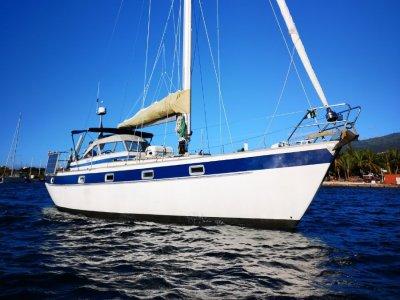 Hallberg-Rassy 38 Blue water cruiser in Tahiti, French Polynesia