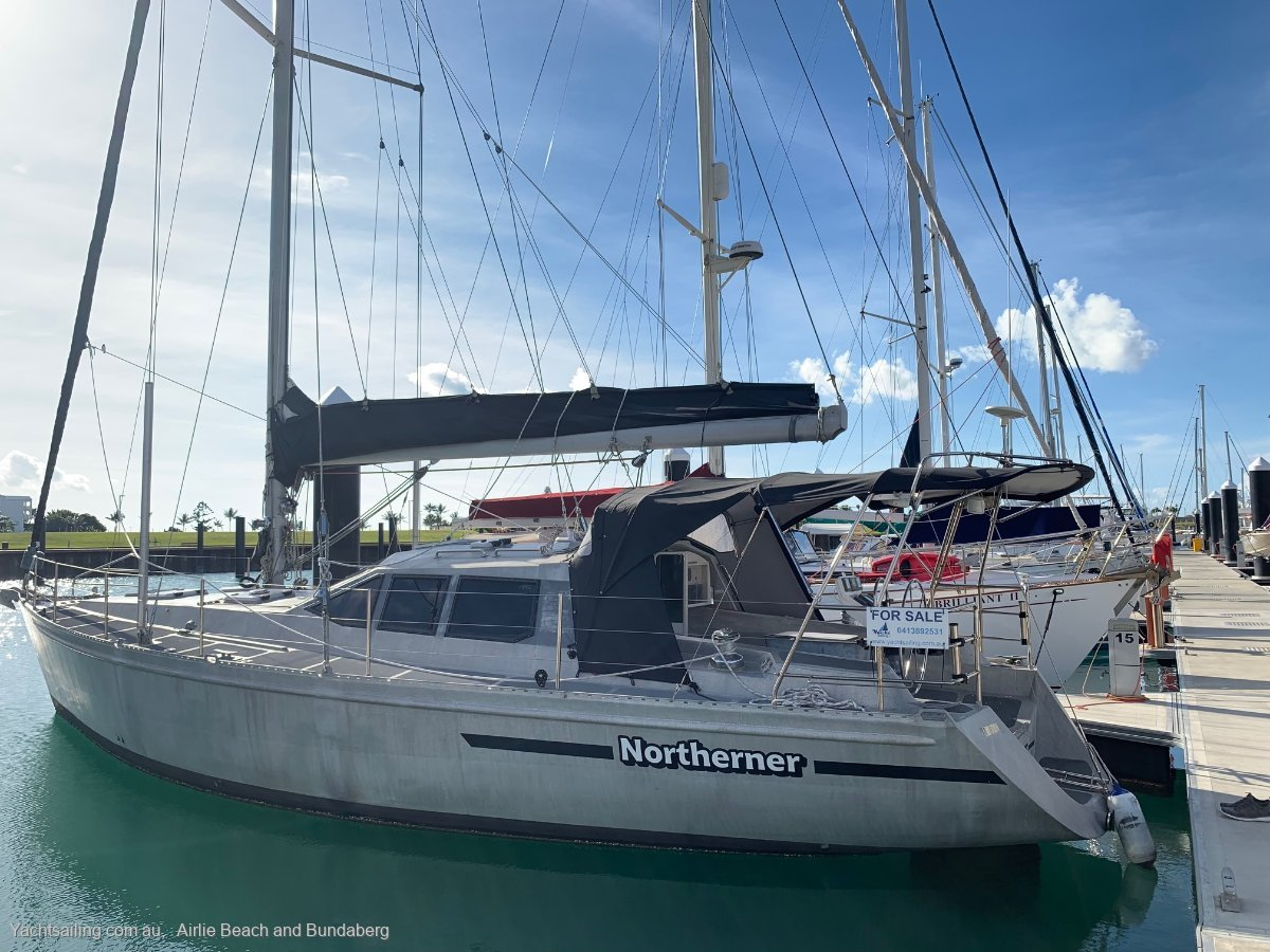 Van De Stadt Tasman 48 The TASMAN is true ocean-going yacht