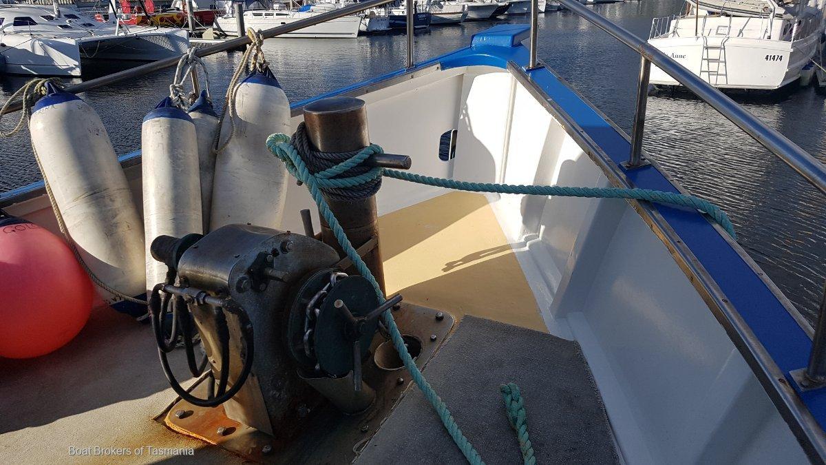 Tasmanian AMSA 3B fishing, 2C charter vessel