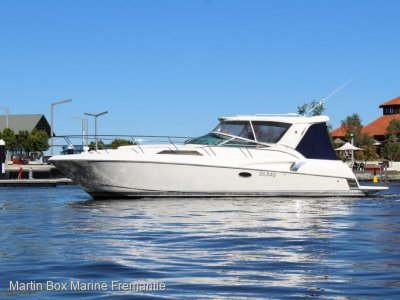 Riviera M360 Sportscruiser Immaculate condition with extended marlin board