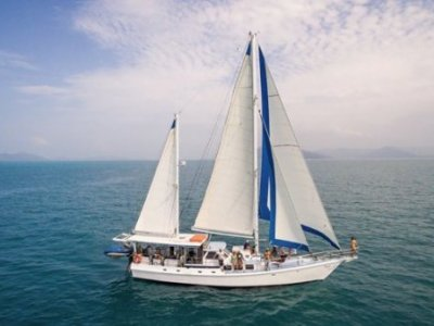 Custom 60 Foot Steel Cutter Rigged Ketch
