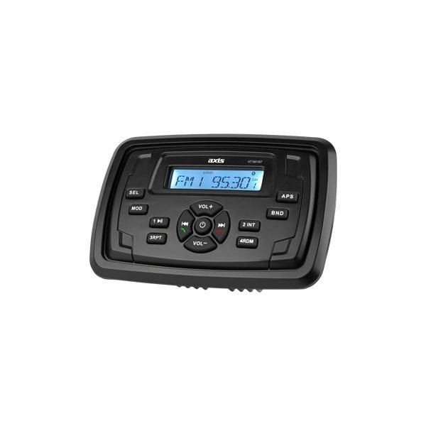 ALL NEW AXIS AT1901T ALL TERRAIN STEREO MULTIMEDIA SYSTEM WITH BLUETOOTH