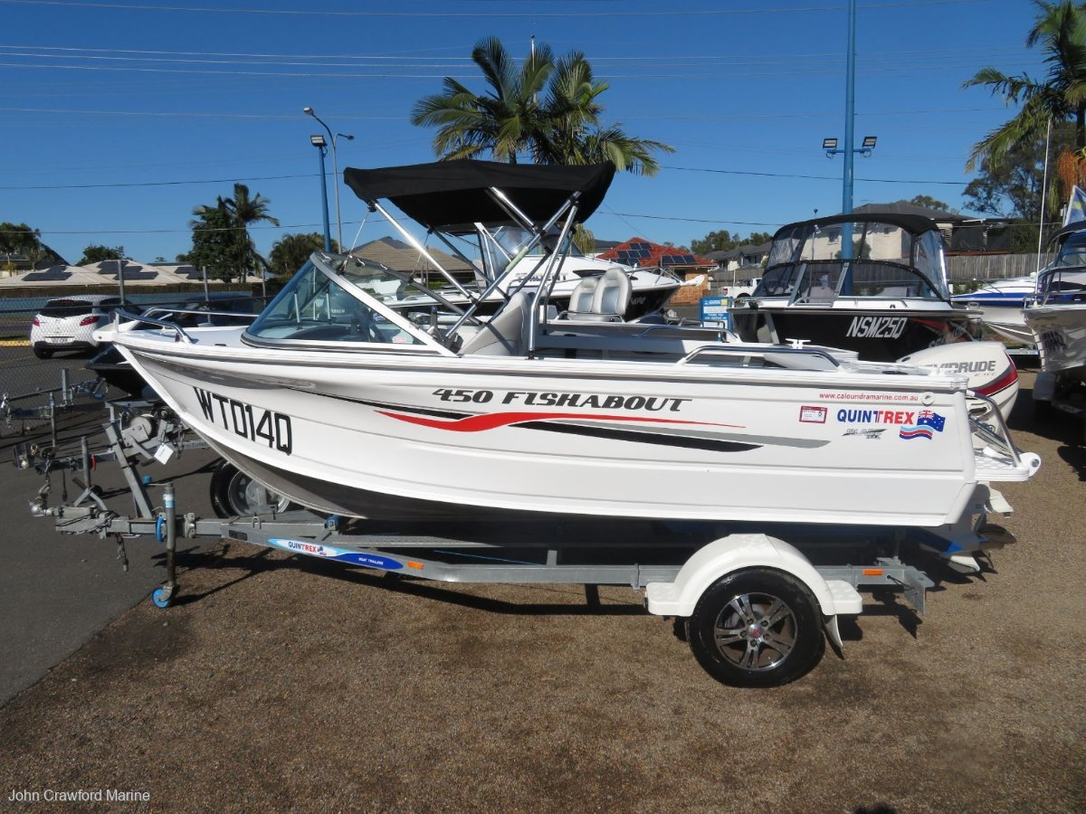 Used Quintrex 450 Fishabout for Sale   Boats For Sale
