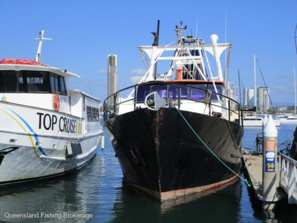 Trawler Ts359 - $600,000 + Licence, No Quota: Commercial Vessel