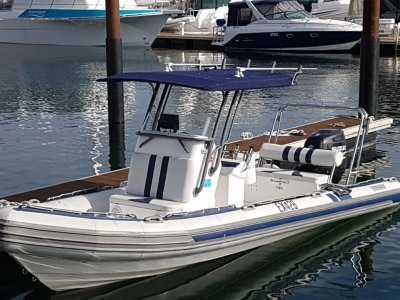 Stingray 7.5 metre RIB 2014 Centre Console