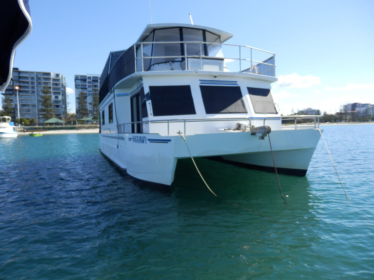 Eagle Catamaran 50 Houseboat Eagle Catamaran Coastal Cruiser / House Boat:Front