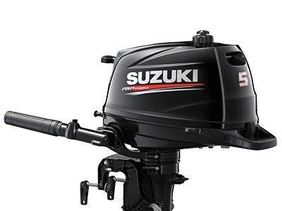 2018 NEW Suzuki 5hp 4-Stroke Outboard