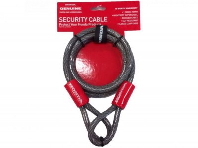 Honda Genuine Security Cables - Special $ 16.00 each - limited numbers