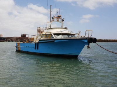 Fine Entry Marine 60 Foot ------- OFFSHORE CREW & UTILITY VESSEL