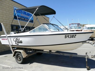 Formula RUNABOUT SOFT RIDING FAMILY BOAT