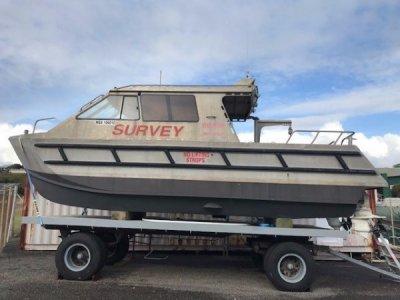 8.6m Alloy Workboat