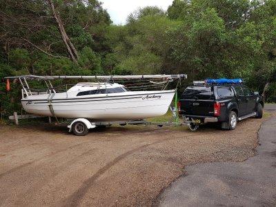 Boat Trailer (for sailing boat)
