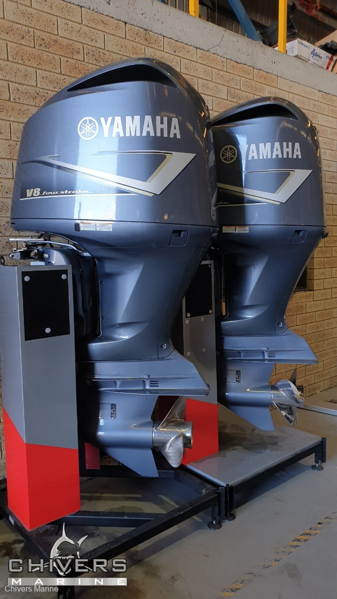 Yamaha F350 & LF350 Twin Outboards and Power steering system - 5.3L v8
