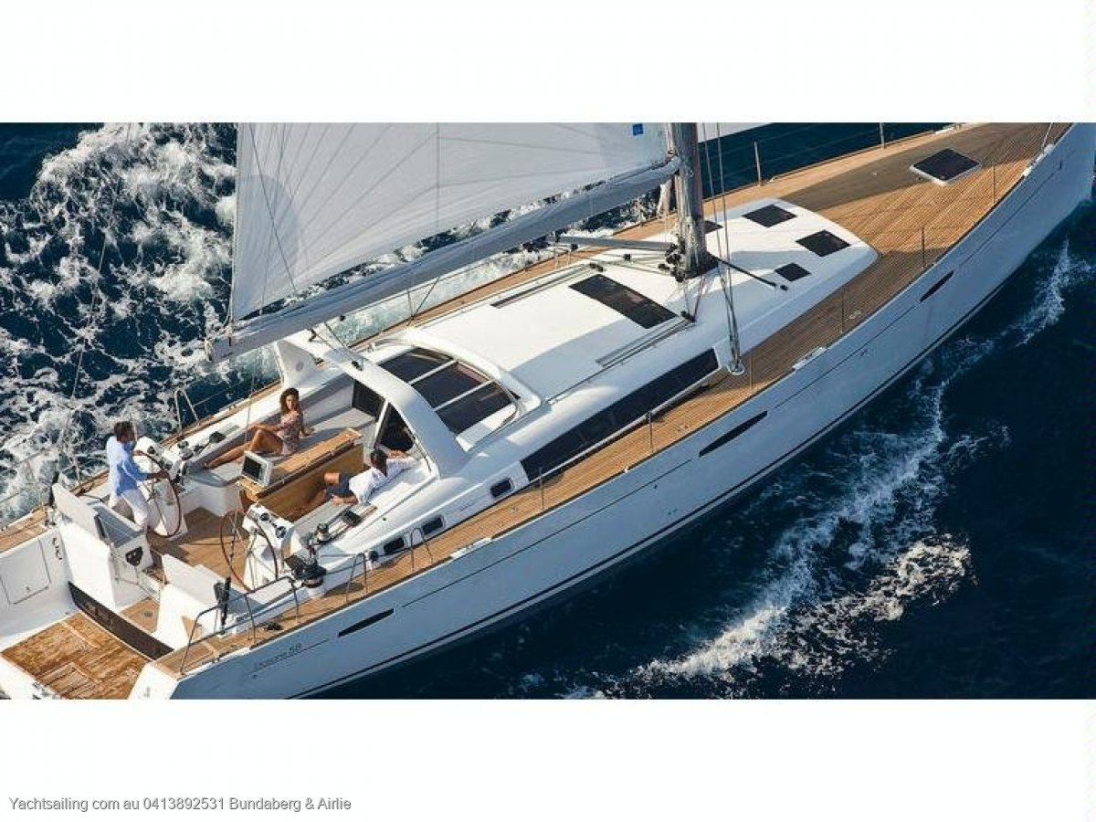 Beneteau Oceanis 58 the pinnacle of the cruising range