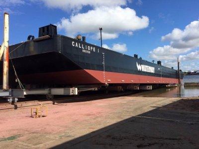 54.88m Flat Top Dumb Barge