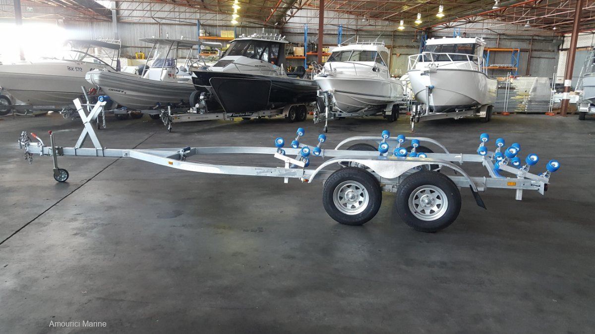 Brand New Tandem Axle Boat Trailer last one